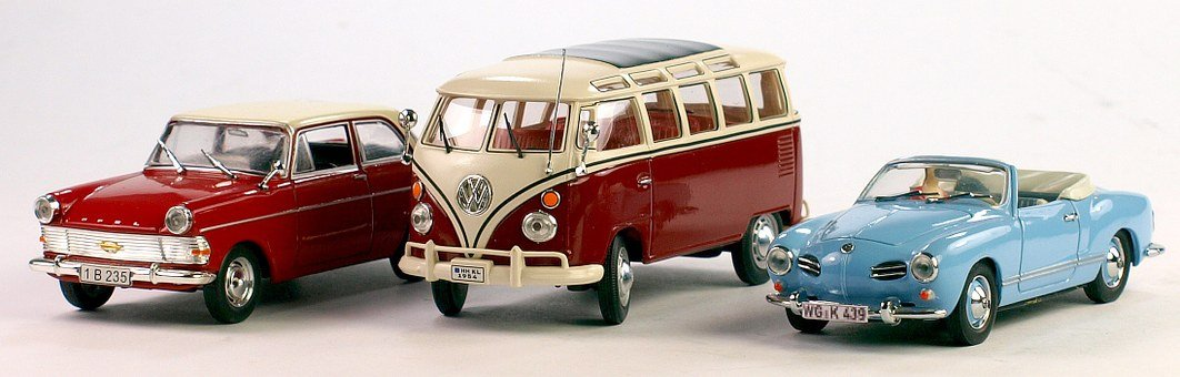 Opel, Vw Bulli, Karmann Gia, Model Cars, Hobby, Leisure