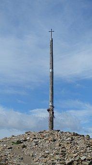 Cross, Pilgrimage, Jakobsweg, Cruz De Ferro