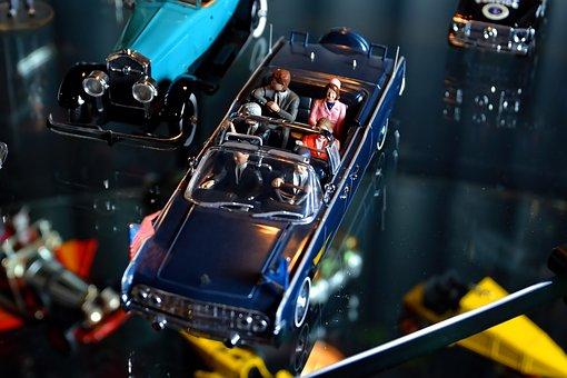 Kennedy, Jfk, 1963, Lincoln, Motorcade, Toy