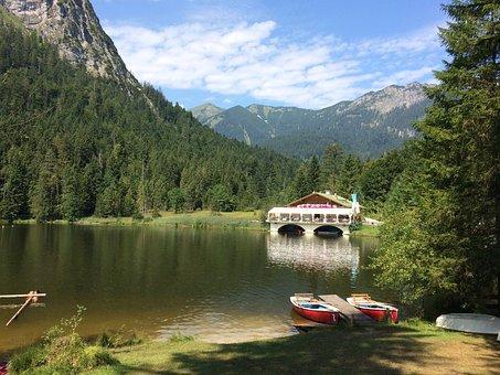 Garmisch, Keeper Lake, Partenkirchen, Allgäu, Alpine
