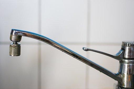 Tap, Water, Kitchen Faucet, Kitchen, Long Crane