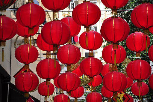 Hong Kong, Lantern, Day, Chinese New Year