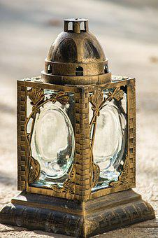 Lantern, Macro, Close, All Saints, Gold