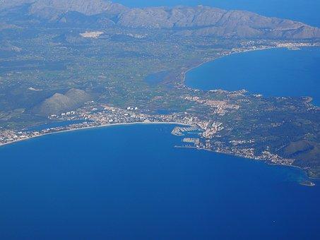 Alcudia, Mallorca, Bay Of Pollenca, Bay Of Alcudia