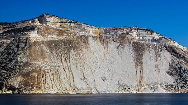 Greece, Pelio, Peninsula, Landscape, Coast, Quarry
