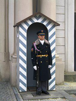 Wachter, Sentry, Tradition, Ceremony, Prague