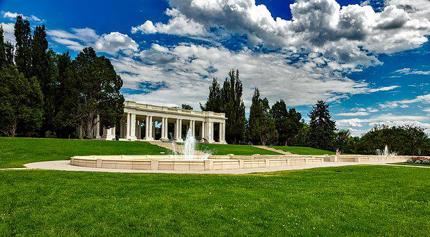 Denver, Colorado, Cheesman Park, Public, Pavilion