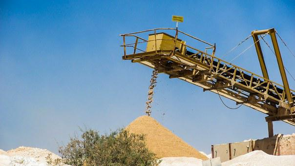 Frac Sand, Quarry, Quarry Belt, Quarrying, Machinery