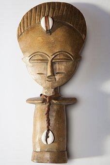 Africa, Art, Sculpture, Wood, Carved, Voodoo, Voudou