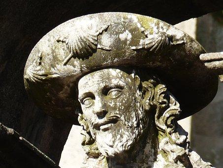 Jakob, Sculpture, Stone, Stone Figure