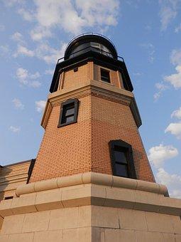 Split Rock, Lighthouse, Silver Bay, Minnesota, Bricks