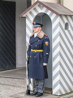 Wait, Wait Are, Monitor, Soldier, Prague, Palace