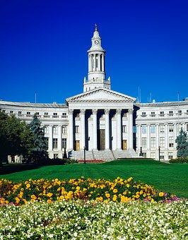 Denver, Colorado, City, Urban, City Hall, Building