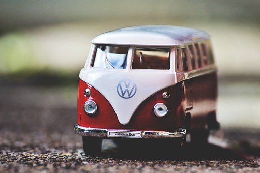 Vw, Bulli, Vw Bus, Volkswagen, Camper, Auto, Model Car