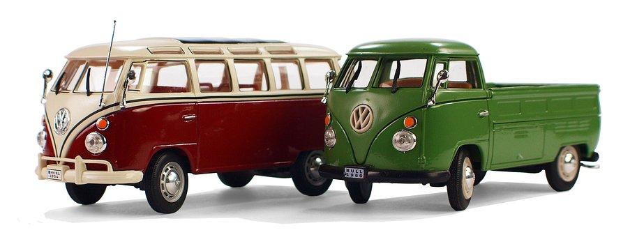 Vw Bulli, Model Cars, Leisure, Hobby