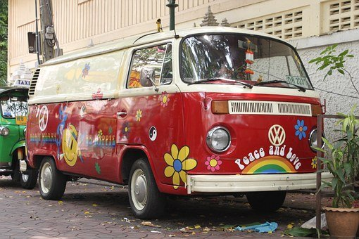 Bulli, T1, Bus, Vw, Volkswagen, Oldtimer, Old, Vw Bus