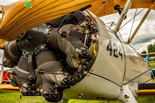 Airplane, Aircraft, Aviation, Vintage, Old, Biplane