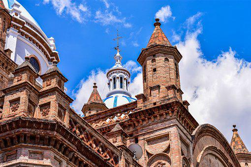 Cathedral Of Cuenca, Ancient Architecture, Dome
