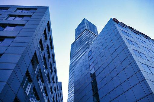Architecture, Skyscraper, View, Top, City, Building