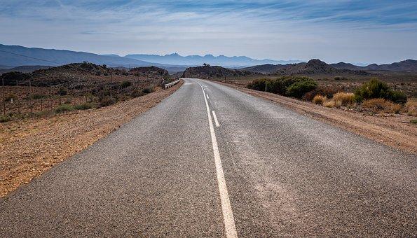 South Africa, Route 62, Little Karoo, Asphalt, Travel