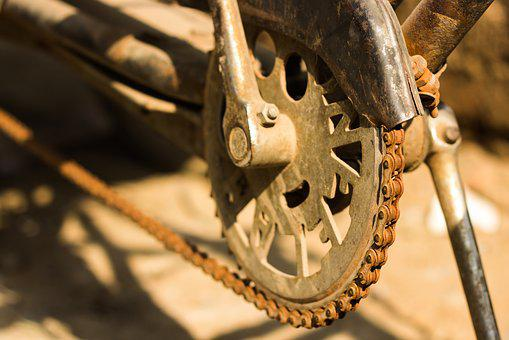Bicycle Chain, Chain, Cycle Chain, Dirty Chain
