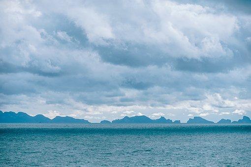 Beautiful, Blue, Bright, Clouds, Cloudy, Coast