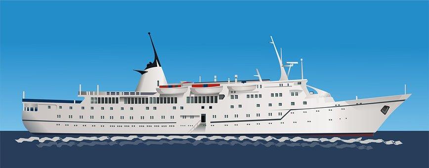 Ship, Sea, Transfer, Boat, Onboard, Cruise, Sailing