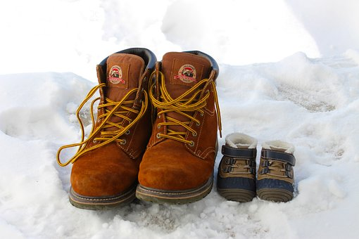 Boots, Winter, Snow, Cold, Footwear, Shoes, Boot, Brown