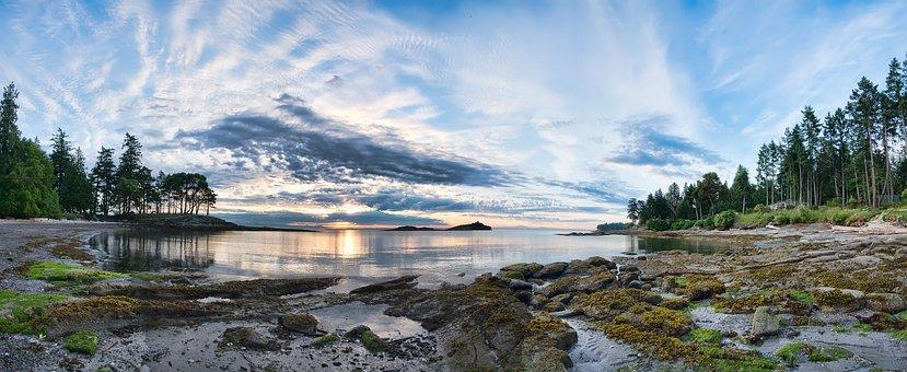 Bay, Beach, Beautiful, British Columbia, Canada, Coast