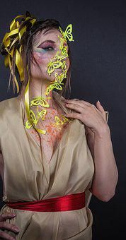 Body Painting, Image, Butterfly