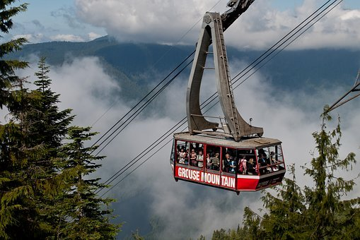 Bc, British Columbia, Cable Car, Canada, Canadaclouds