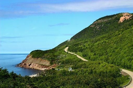 Cape Breton, Road Trip, Drive, Windy, Road, Scenic