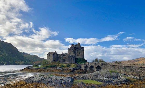 Eilean Donan Castle, Castle, Architecture, Building