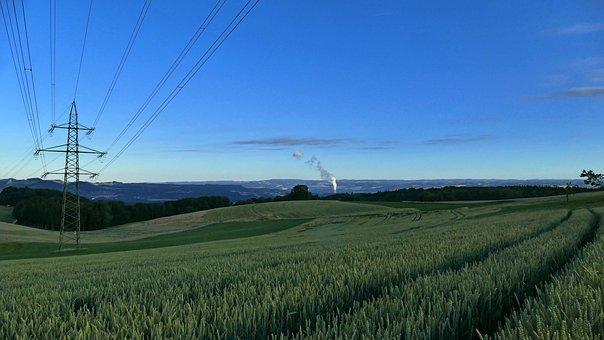 Landscape, Nature, Field, Cereals