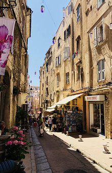 Corsica, Bonifacio, Historic Center, City