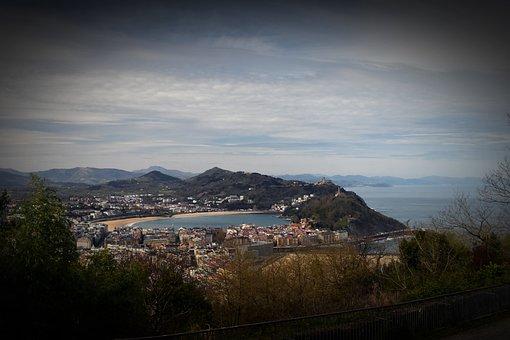 City Of Donostia-san Sebastian, Landscape, Spring