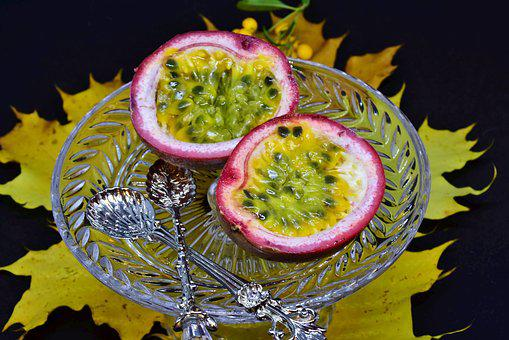 Passion Fruit, Fruit, Exotic, Fruits, Passiflora Edulis