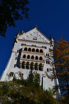 Castle, Kristin, Bavaria, Germany, Füssen, Fairy Castle