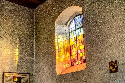 Church Window, Colorful, Church, Glass, Glass Window