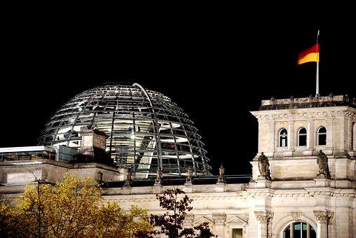 Berlin, Reichstag, Government, Architecture, Glass Dome