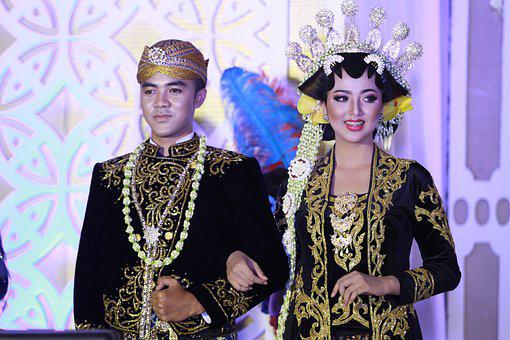 Java, Wedding, Traditional, Asia, Ethnic, Indonesia