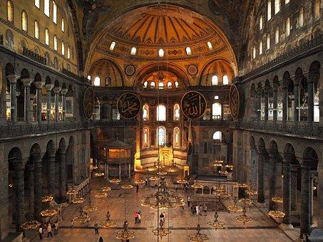 Istanbul, Byzant, Islamic, Aya, Antique, Basilica