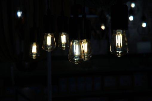 Light, Light Bulb, Energy, Lamp, Current, Shining, Pear