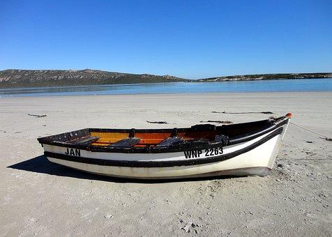 Boat, Seaside, Lagoon, Beach, Marooned, Coast, Water