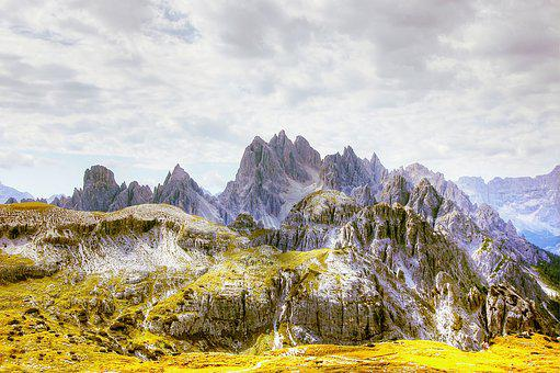 Cadini, Dolomites, South Tyrol, Landscape, Nature