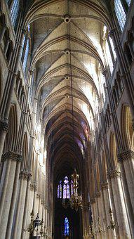 Reims, Cathedral, Gothic, Architecture, Religious