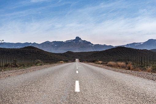 South Africa, Route62, Asphalt, Road, Travel, Horizon