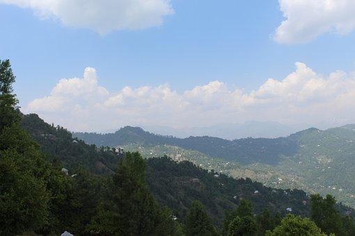Pakistan, Naran, Landscape, Sky, Mountains, Nature