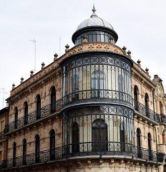 Historical Facade, Salamanca, Architecture, Spain