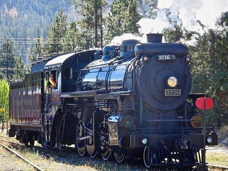 Steam, Train, Railway, Vintage, Nostalgia, Antique